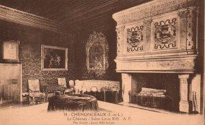 Louis XIII Saloon,Castel,Chenonceaux,France BIN