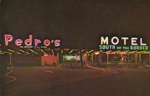 South Carolina South Of The Border Pedro's Motel