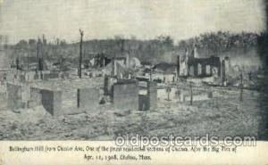 After the big fire, Chelsea, Mass, Massachusetts, USADisaster Disasters, Post...