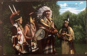 Mint USA PPC Picture Postcard Native American Pawnee Indians Of Oklahoma