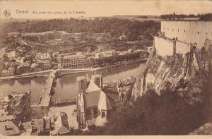 Belgium Dinant Vue prise des glacis de la Citadelle 1925