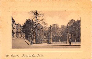 Square du Petit Sablon Bruxelles Belgium Unused
