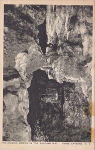 The Kissing Bridge In The Winding Way Howe Caverns New York Albertype 1934