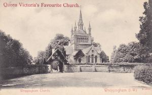 Queen Victoria's Favourite Church, Whippingham Church, Whippingham, (I.W.) 00-10