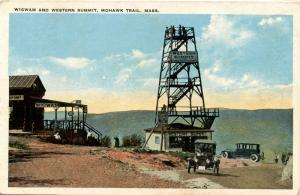 MA - Berkshires, Mohawk Trail. Wigwam and Western Summit