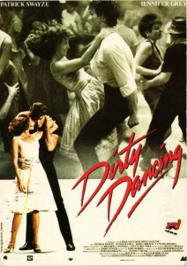 CPM AK Dirty Dancing Patrick Swayze&Jennifer Grey CINEMA FILM (781025)