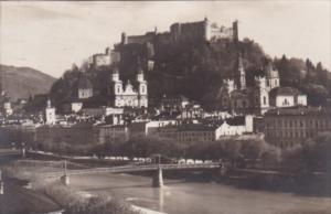 Austria Salzburg Panorama 1931 Real Photo