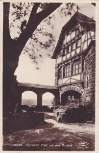 RP, Idyllischer Platz Vor Dem Burghof, NIDEGGEN (North Rhine-Westphalia), Eng...