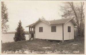 RP: COOK , Minnesota , 1920-40s; A Cabin by the Lake, Vermilion Lodge