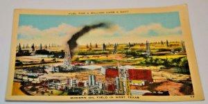 Fuel Million Cars a Day! Modern Oil Field West Texas Energy Permian Basin WTI