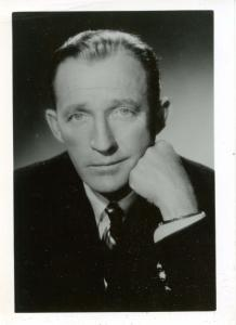 Bing Crosby, Actor, Entertainer. Photo (Not a postcard)