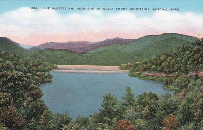 Tennessee Smoky Mountains Lake Santeetlah