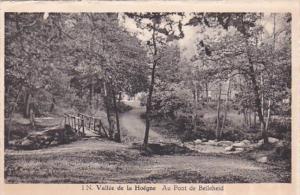 Belgium Vallee de la Hoegna Au pont de Belleheid