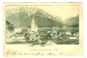 Toblach im Pusterthal, Tirol, Austria, PU-1904
