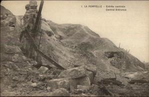 Fort La Pompelle France Central Entrance c1915 Postcard