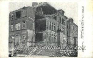 Columbia School, Tornado St. Louis MO Unused