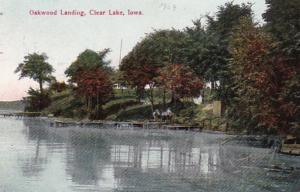 Iowa Clear Lake Oakwood Landing 1909