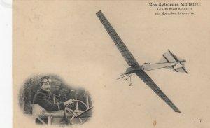 France , War 1914-18 ; Le Lt ROCHETTE sur Monoplane Antoinette