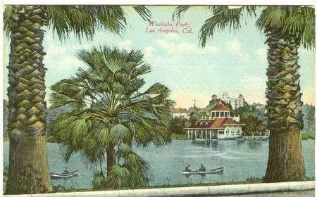 Westlake Park, Los Angeles, California, 1900-10s