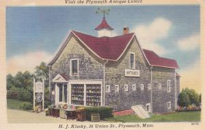 Plymouth Antique Centre , PLYMOUTH , Massachusetts , PU-1960s
