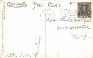 Police Headquarters Batavia, New York Postcard