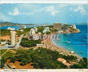 Postcard Modern Mallorca Magaluf Vista General