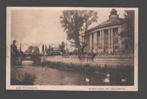 086694 GERMANY Bad Kissingen Regentenbau mit Saalep Vintage PC