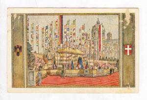 Flags at Castle,Festival/Expo,Vien na,Austria 1928