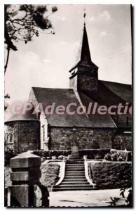 Postcard Old Sainte-Marguerite-sur-Mer Church