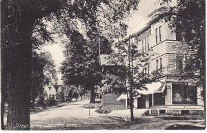 Street Scene, Lakeville, Conn.