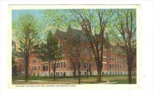 Academy Of Our Lady Of Lourdes, Rochester, Minnesota, PU-1920