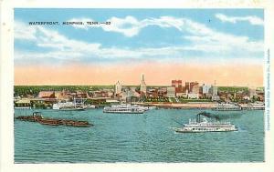 TN, Memphis, Tennessee, Waterfront, E.C. Kropp No. 15818