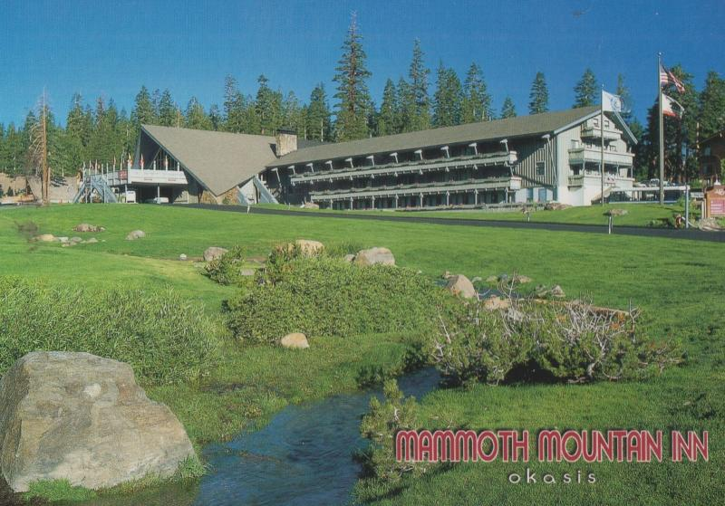 Mammoth Mountain Inn Hotel Advertising Postcard