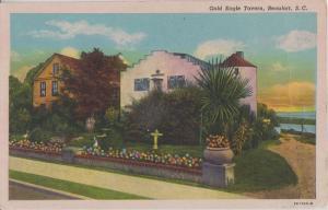 BEAUFORT South Carolina - GOLD EAGLE TAVERN view 1930s / DEMOLISHED / Dale SC