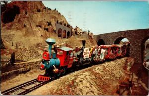 Disneyland Casey Jr Train Fantasyland c1958 Vintage Postcard M26