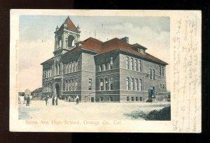 5231 - SANTA ANA Ca 1906 High School. Orange County
