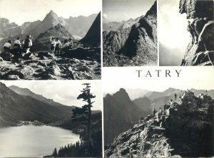 Postcard Poland Tatras mountains sightseeing