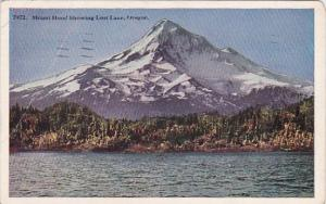 Oregon Mount Hood Showing Lost Lake 1941