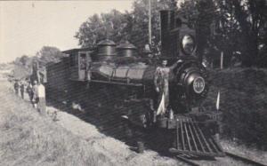 Wisconsin Whitewater Locomotive No 515 Heading Past Oak Cemetery