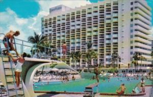 Florida Miami Beach The Americana Hotel Bal Harbour 1959