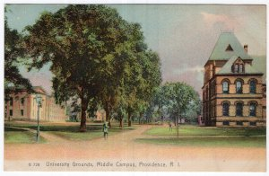 Providence, R.I., University Grounds, Middle Campus
