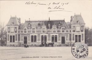 CHALONS-sur-MARNE , France , PU-1908 - La caisse d'Epargne