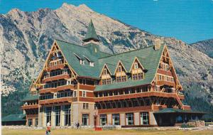 Canada Alberta Prince Of Wales Hotel Waterton Lakes