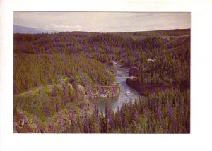 Miles Canyon near Whitehorse, Yukon, Prepaid with Matching 8 Cent Stamp