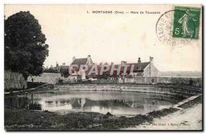 Old Postcard Mortagne Toussaint Mare
