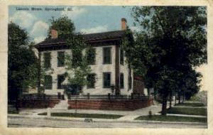 Lincoln Home Springfield IL 1920