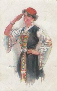 USABOL ; Female Portrait , Salute , 00-10s