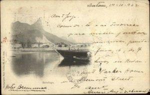 Rio De Janeiro Botafogo 1902 Used Postcard