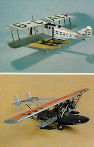 National Aviation Museum Model Collection, Martinsyde Type A MK II (1920) & S...