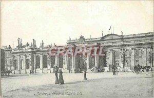 Postcard Old Bordeaux Facade of the Hotel de Ville